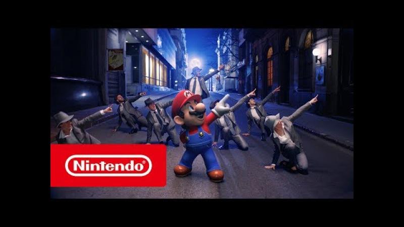 Jump Up, Super Star! — музыкальное видео Super Mario Odyssey (Nintendo Switch)