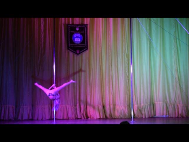 Гулькевич Лілія Теодозіївна Ківі Фітнес POLE DANCE Дорослі жіноча категорія амато ...