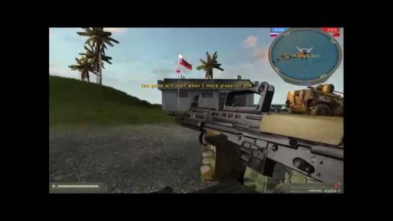 BF4 L85A2 mod for BF2