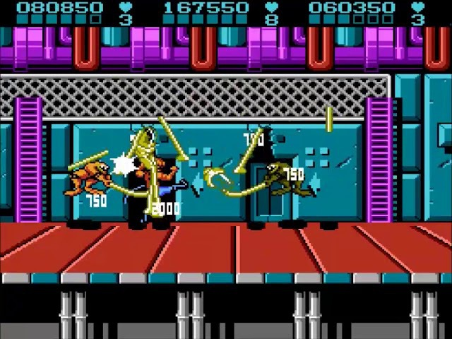 Battletoads Double Dragon x3 (U) [v1.0] - (3p) Hard