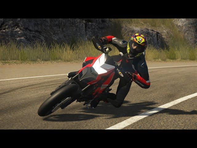 Đua Xe Phân Khối Lớn, Ducati Hypermotard SP 2015 Bào Xuyên Đèo