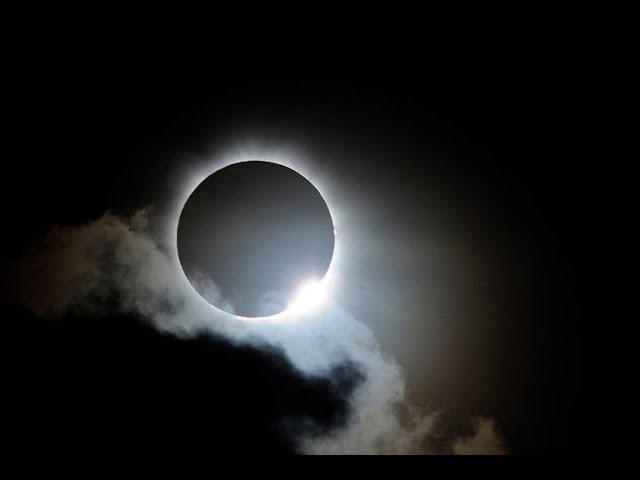 Предсказывает ли затмения плоская земля? В погоне за тенью № 2