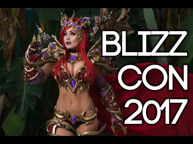BLIZZCON 2017 COSPLAY MUSIC VIDEO VLOG! OVERWATCH WORLD OF WARCRAFT DIABLO RECAP SONY ZHIYUN