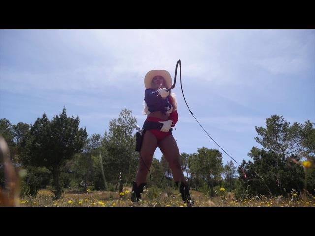 Fuel Girl Ayesha - Whip Cracking Show