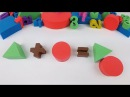 Solving Geometry Math Quizzes with Kinetic Sand Studying Numbers Learning Colors 키네틱 샌드 도형으로 수학 색깔