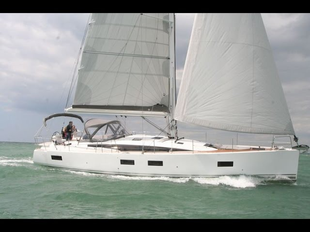 JEANNEAU 54 Guided Tour Video in English
