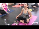 Tiny rescue kittens run and play in purrfect cat yoga class!