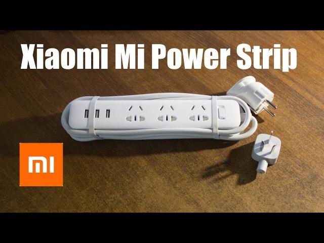 ОБЗОР И ЗАМЕНА ВИЛКИ Xiaomi Mi Power Strip