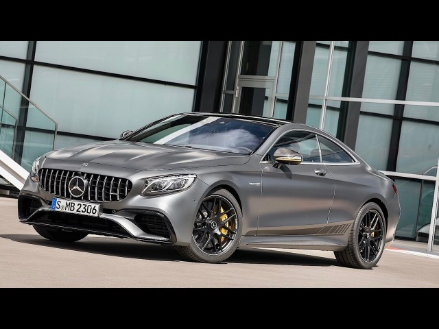 2018 Mercedes AMG S63 Ready to Fight Bentley