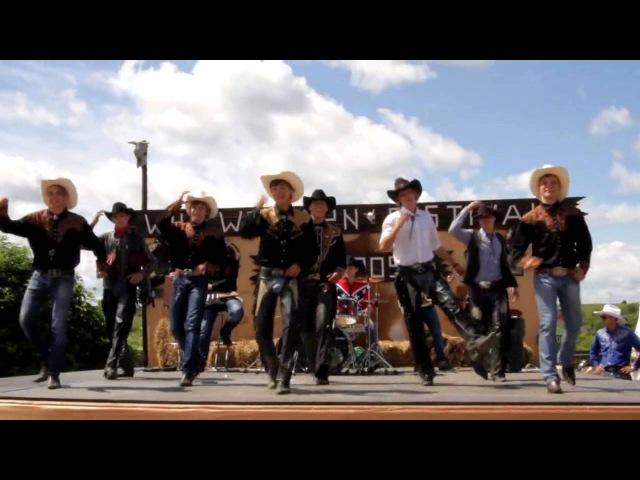 Ковбойский танец Танцевальный коллектив Street Boys Шоу Дикий Запад