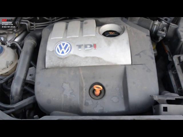 Двигатель Volkswagen Polo 9N 9N3 1 4 TDI AMF