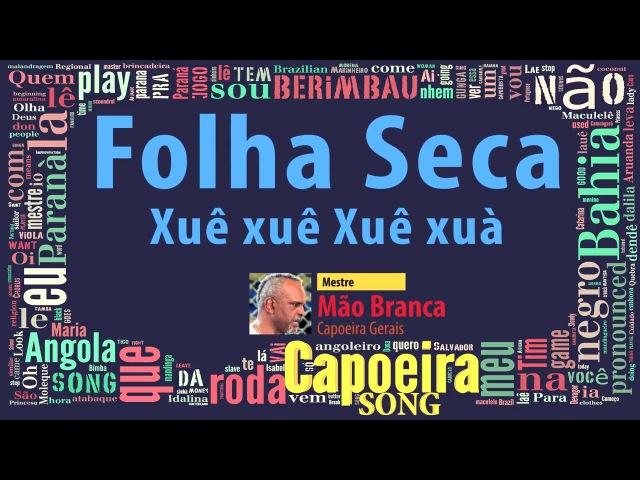 Folha Seca (Xuê, xuê, xuê, xuà), Mestre Mão Branca (capoeira Gerais) - Capoeira Song
