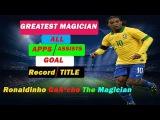 Ronaldinho The Magician = All Time Stats II Apps, Goals , Assists,Award,Title II