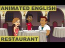 Animated English Lesson - Restaurant Meal