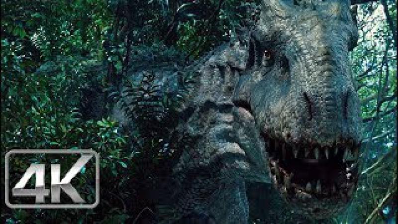 Indominus Rex Camuflado - LATINO (4K-HD) | Jurassic World (2015) |