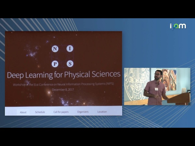 Kyle Cranmer: Deep Learning in the Physical Sciences