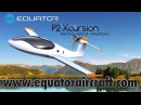 Equator Aircraft P2 Xcursion electric hybrid powered amphibious two seat experimental aircraft