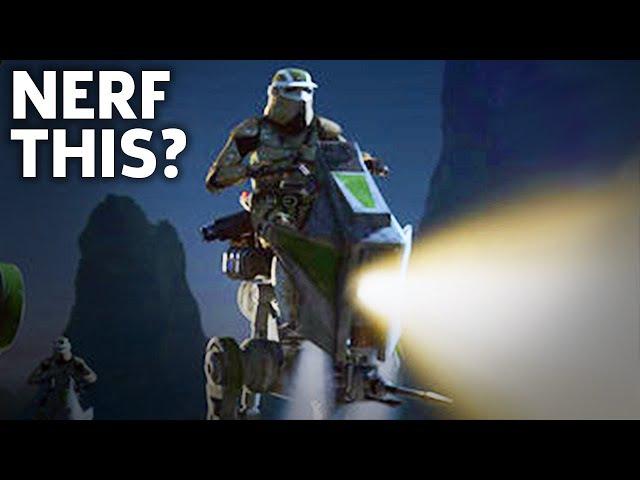 Going HAM in an AT-RT: Star Wars Battlefront 2 Beta Gameplay