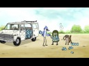 Journey to the Bottom of the Crash Pit | Regular Show | Cartoon Network