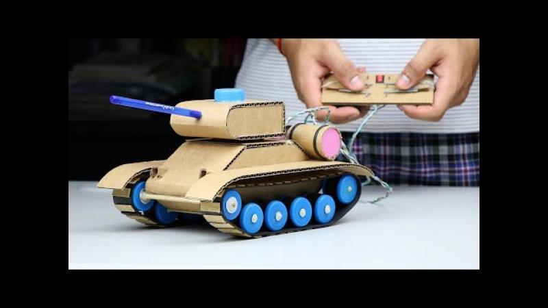 Wow Amazing RC Tank DIY at Home Mini Gear RC Tank смотреть онлайн без регистрации