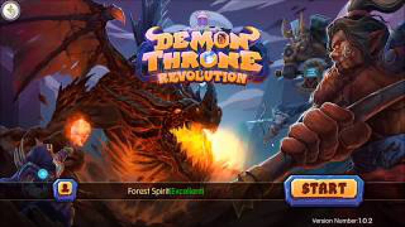 Demon Throne Revolution android game first look gameplay español