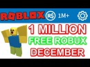 ROBLOX 1 MILLION ROBUX FREE WITH NO DOWNLOADS Christmas 2017 Fast Easy