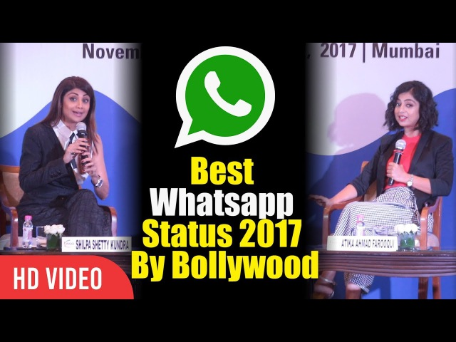 Best Whatsapp Status 2017 By Shilpa Shetty And Atika Ahmad Farooqui Viralbollywood