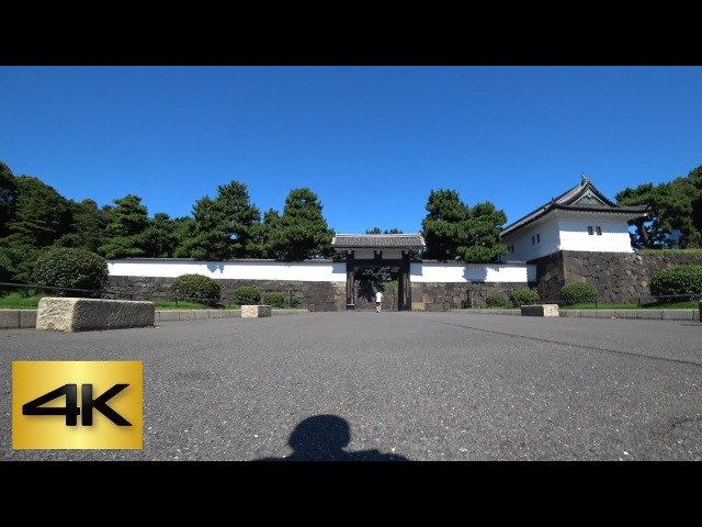 TOKYO KICK SCOOTER RIDE   Imperial Palace Running Course 皇居ランニングコース [4K]