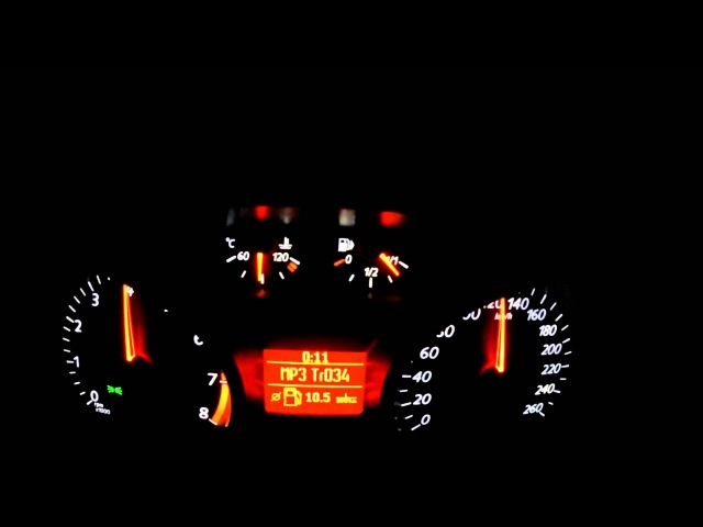 Ford Mondeo 2.5T 0-200 kmh
