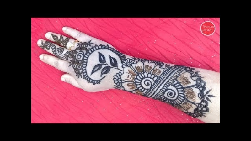 Pakistani Mehndi Design | Woman Garden 😍