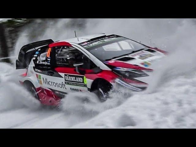 WRC Rally Sweden 2018 SHAKEDOWN