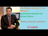 Can Kidneys Recover From Dialysis AyurvedicTreatment For Kidney Failure - Reduce Urea &amp Creatinine