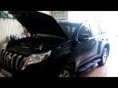 Land Cruiser Prado 150 4.0 2014 Замена масла и воздушного фильтра
