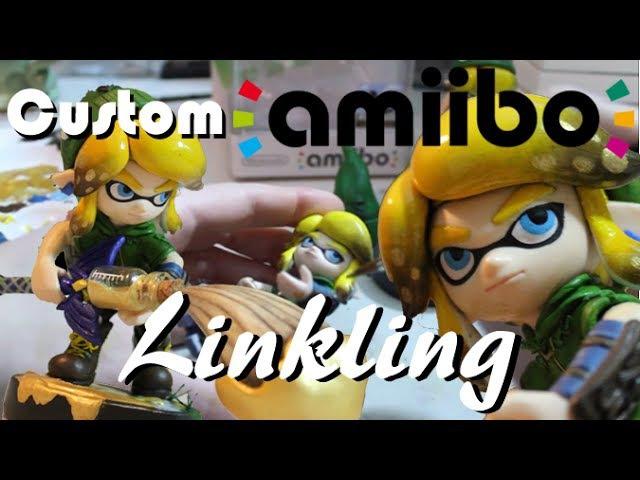 Преобращение Amiibo Инклинга в Линкинг версию Часть вторая Покрас PixelCollie
