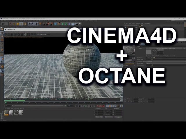 Using Poliigon textures in Cinema4D and Octane - (Material Basics and Surface Imperfections)