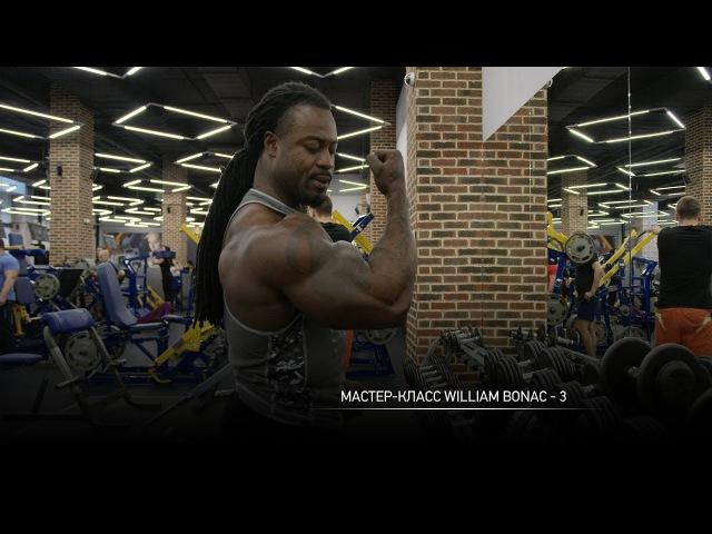 Мастер-класс IFBB Pro Уильяма Бонака. Часть 3: упражнения для бицепсов и трицепсов