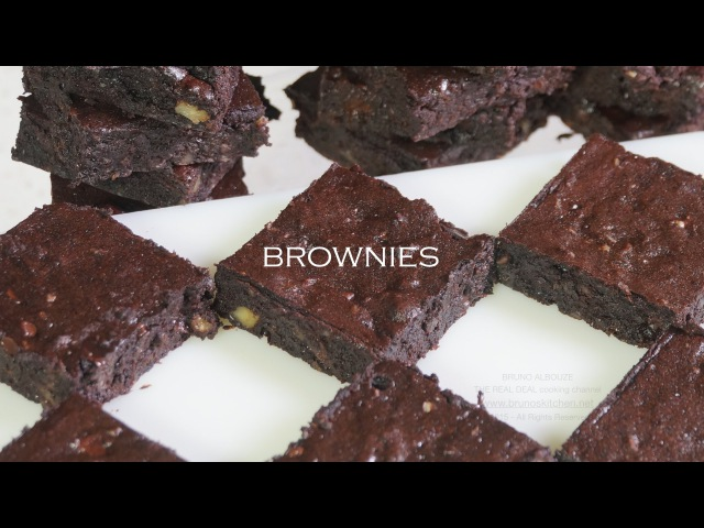 Fudgy Brownies (Flourless) – Bruno Albouze – THE REAL DEAL