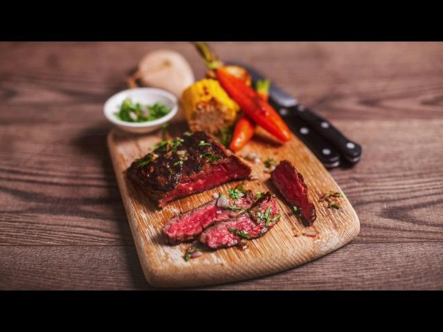 Bavette Steaks - Butchering and Cooking