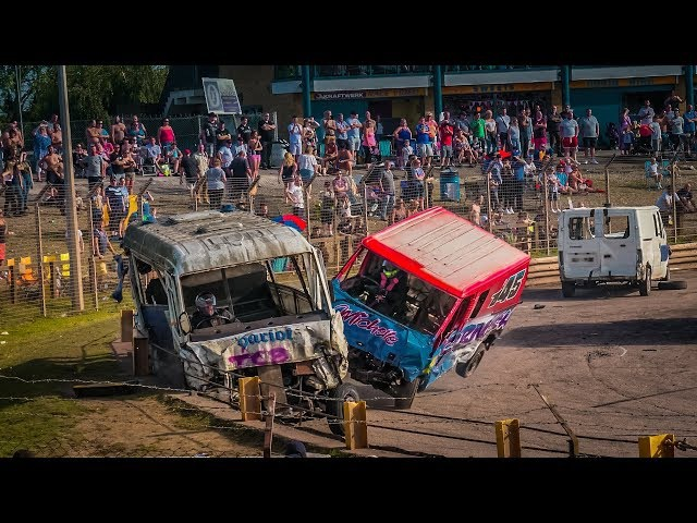 Arena Essex Unlimited Big Van Banger Racing - Rawlins Transport - 28th Aug 2017