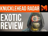 The Best overall Hunter Exotic Destiny 2 Knucklehead Radar Review