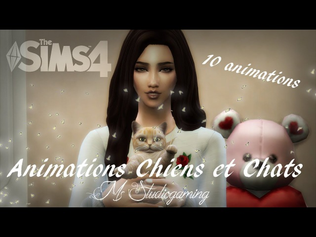 Sims 4 Animation pack Cats and Dogs (Download) 16