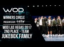 Jukebox Family 2nd Place Team Winners Circle World of Dance Las Vegas 2017 WODLV17