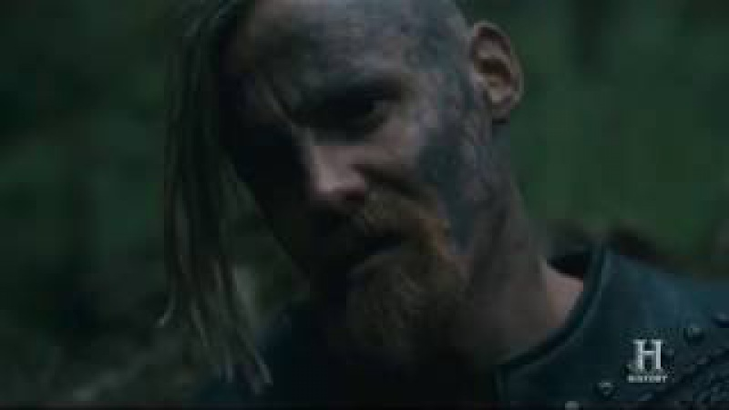 VIKINGS | King Harald and Halfdan say Icelandic folk song