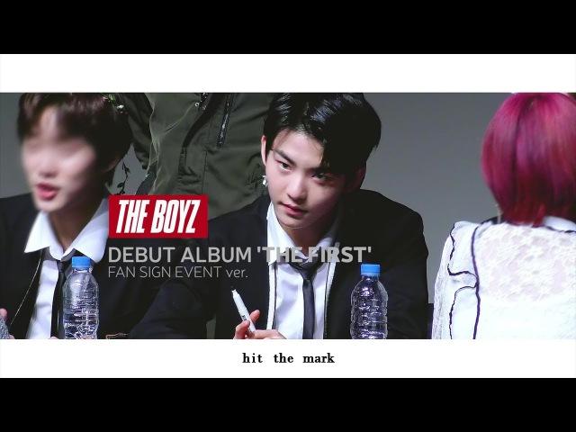 소년 (Boy) 데뷔앨범 팬사인회 ver. edit cam 더보이즈 활 직캠 THE BOYZ HWALL
