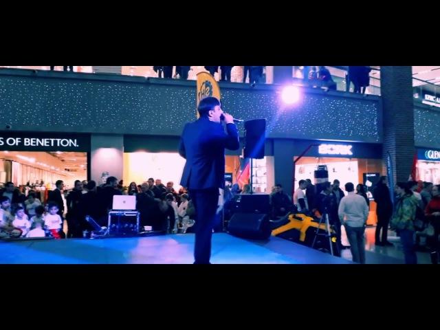 Чарказян Аслан на Фестивале единоборств с песней Ты одна мною любима Remix 2018
