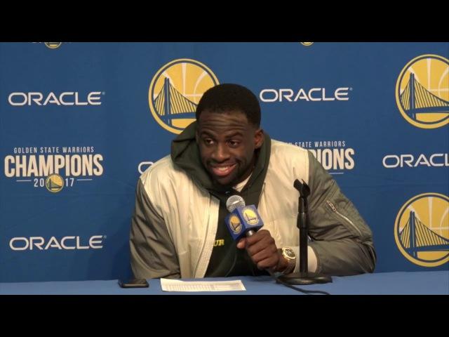 Draymond Green Postgame Interview / GS Warriors vs Knicks / Jan 23