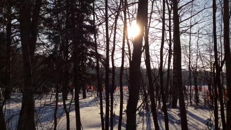 Лыжная база - Эжва - февраль 2018 года