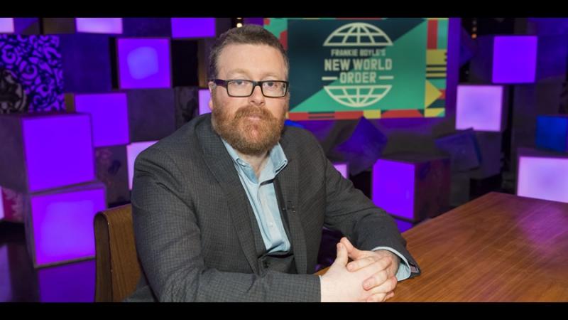 Frankie Boyle's New World Order 1x03 - Dane Baptiste, Sara Pascoe, Katherine Ryan, Benjamin Zephaniah