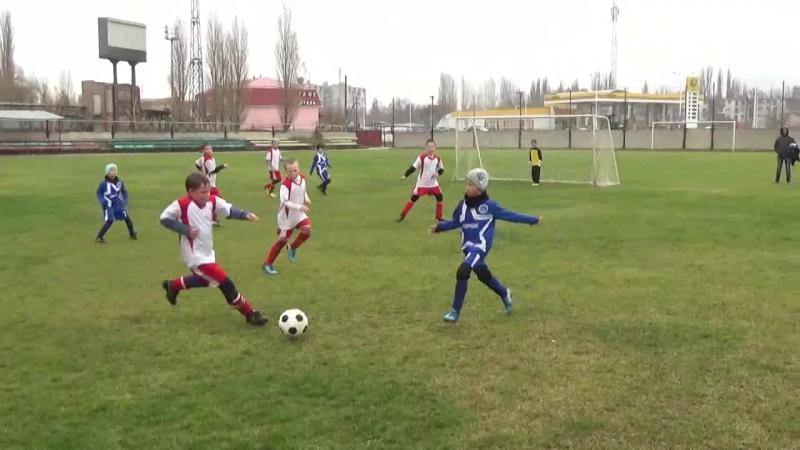 ДЮСШОЛИМПИК(Армянск) СШ №8 Надежда(Севастополь)1-ый тайм 2009