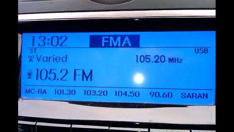 Часовая отбивка на FM 105,2 Радио Экспресс ( г. Пенза ).